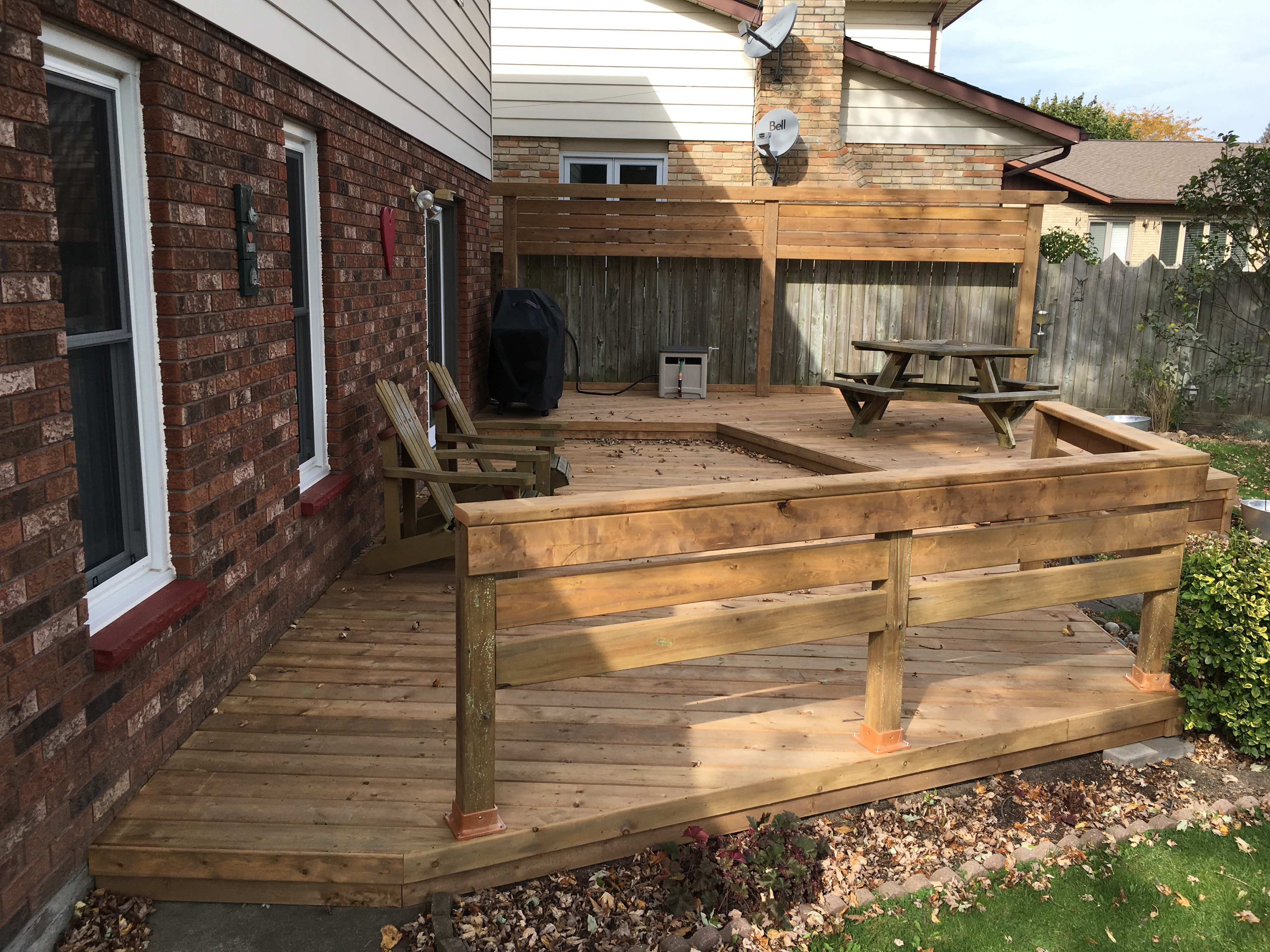 home and garden deck